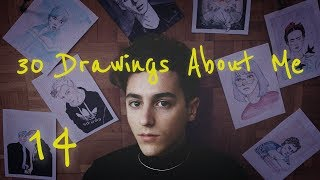My First Video in English - 30 DRAWINGS ABOUT ME