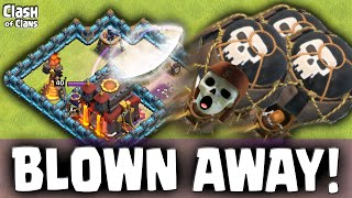 "Clash of Clans Attacks ""The Air Sweeper"" Clash of Clans Strategy ♦ CoC ♦"