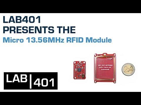 Micro 13 56MHz RFID Module – Lab401