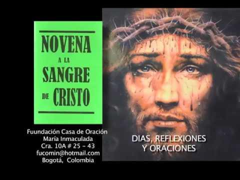 NOVENA ORIGINAL DE LA SANGRE DE CRISTO