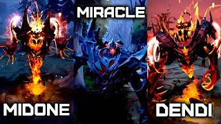 BEST Shadow Fiend players — Miracle, MidOne, Dendi