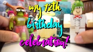 MY ROBLOX BIRTHDAY CELEBRATION! IT'S MY BIRTHDAY CAN I GET A COOKIE?