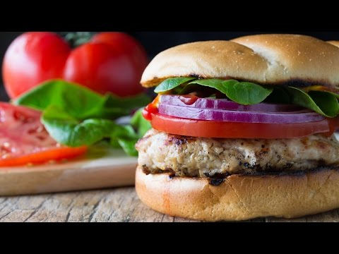 How To Make Juicy Grilled Turkey Burger