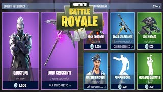 FORTNITE *SHOP* 20/10 | NUOVA SKIN JACK GOURDON - SANCTUM - LUNA CRESCENTE