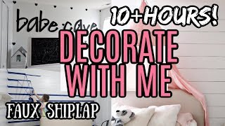 TEN PLUS HOURS DECORATE WITH ME & DIY DECOR   CLEAN AND DECORATE WITH ME