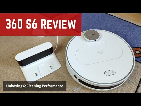 360 S6 Robot Vacuum Review: Unboxing and Cleaning Test