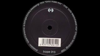 Poseidon - Supertransonic (Timo Maas Mix)  |Hope Recordings| 2000