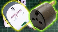 Piggyback Plug, Double Adaptors and Extension Bars
