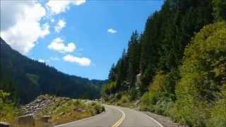 Mt. Rainier National Park Driving : Road to Paradise