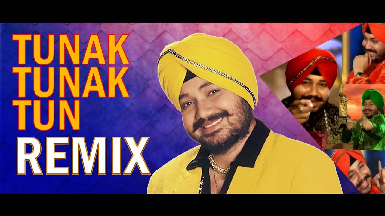 Tunak Tunak Tun Remix I DJ Ravish I Daler Mehndi   Tatwarth Visuals - YouTube