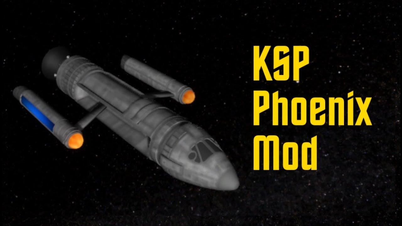 Kerbal Space Program - Phoenix mod - YouTube