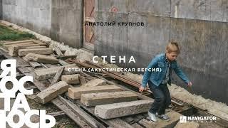Анатолий Крупнов - Стена (акустическая версия) (Аудио)