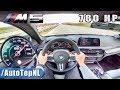 780HP BMW M5 F90 4.4 V8 BiTurbo Elmerhaus AUTOBAHN POV by AutoTopNL