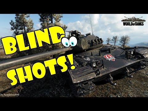 World of Tanks - Funny Moments   BLIND SHOTS, RNG SHOTS! (April 2018)