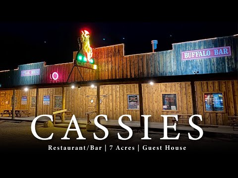 Cassies Supper Club (Restaurant & Bar For Sale) In Cody Wyoming!
