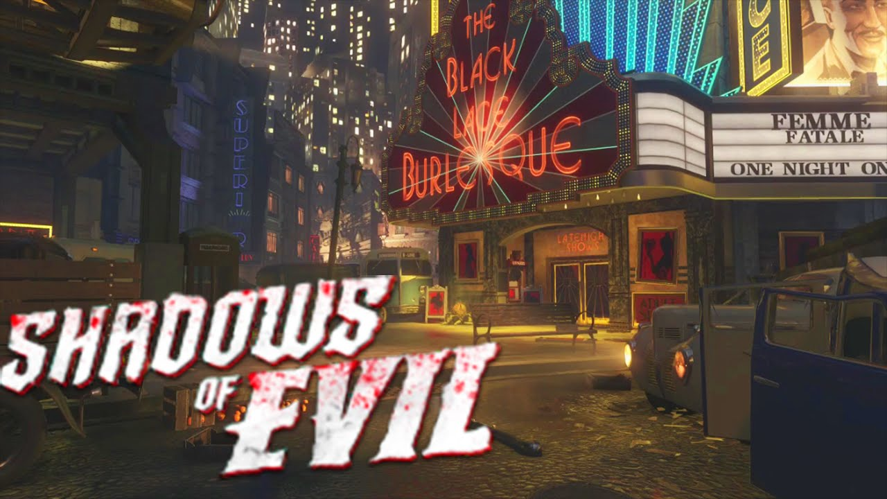 Ultimate Guide to 'Shadows of Evil' - Walkthrough, Tutorial, All Buildables (Black Ops 3 Z