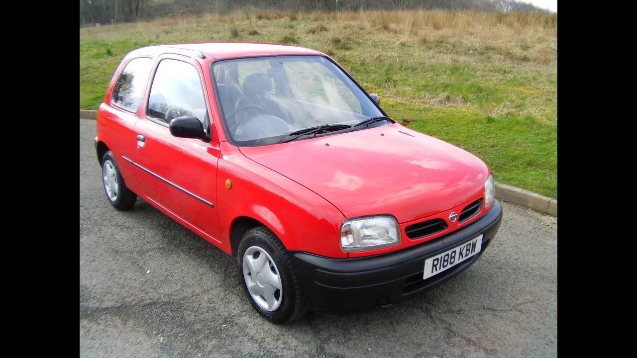1998 nissan micra automatic youtube. Black Bedroom Furniture Sets. Home Design Ideas