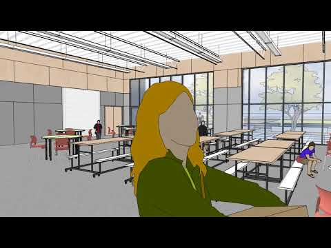 Animated Virtual Reality Tour of Future Cold Springs Elementary School