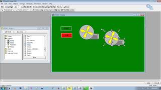 RSView32 Works Animation and RSLogix 500 Complete tutorial