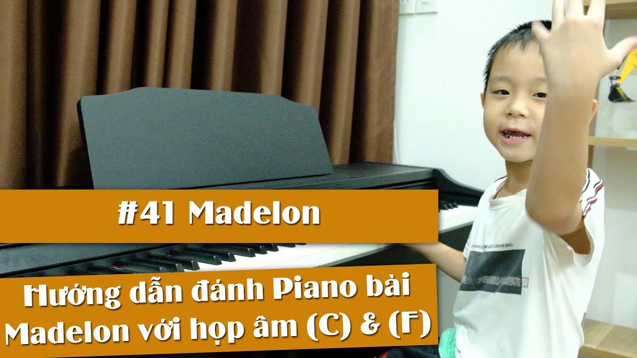 #41: Hướng dẫn đánh Piano bài Madelon với 2 tay | Siro Piano