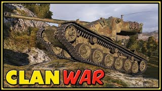 Clan War - Kranvagn - 10K Dmg - World of Tanks Gameplay