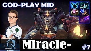 Miracle - Lion GOD-PLAY MID | Dota 2 Pro MMR Gameplay #7