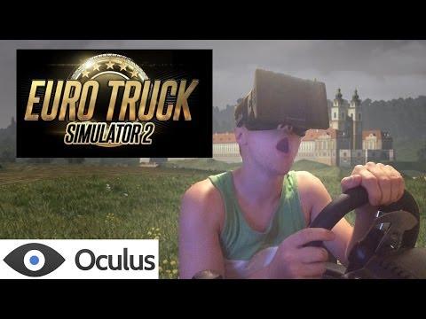 Euro Truck Simulator 2 Oculus Rift support now in beta