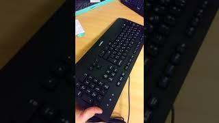 Unboxing клавиатуры logitech K280E PRO