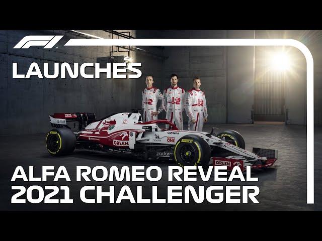 Raikkonen, Giovinazzi and Kubica Unveil the Alfa Romeo C41