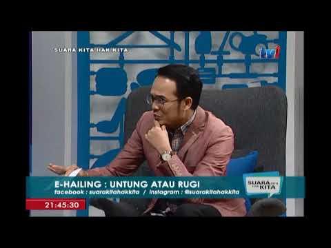 SUARA KITA HAK KITA : E-HAILING – UNTUNG ATAU RUGI [11 SEPT 2017]