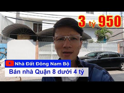 Chính chủ Bán nhà Quận 8 dưới 4 tỷ 2021, khu nhà lô Hưng Phú P10 Q8, gần cầu Nguyễn Tri Phương Quận 5