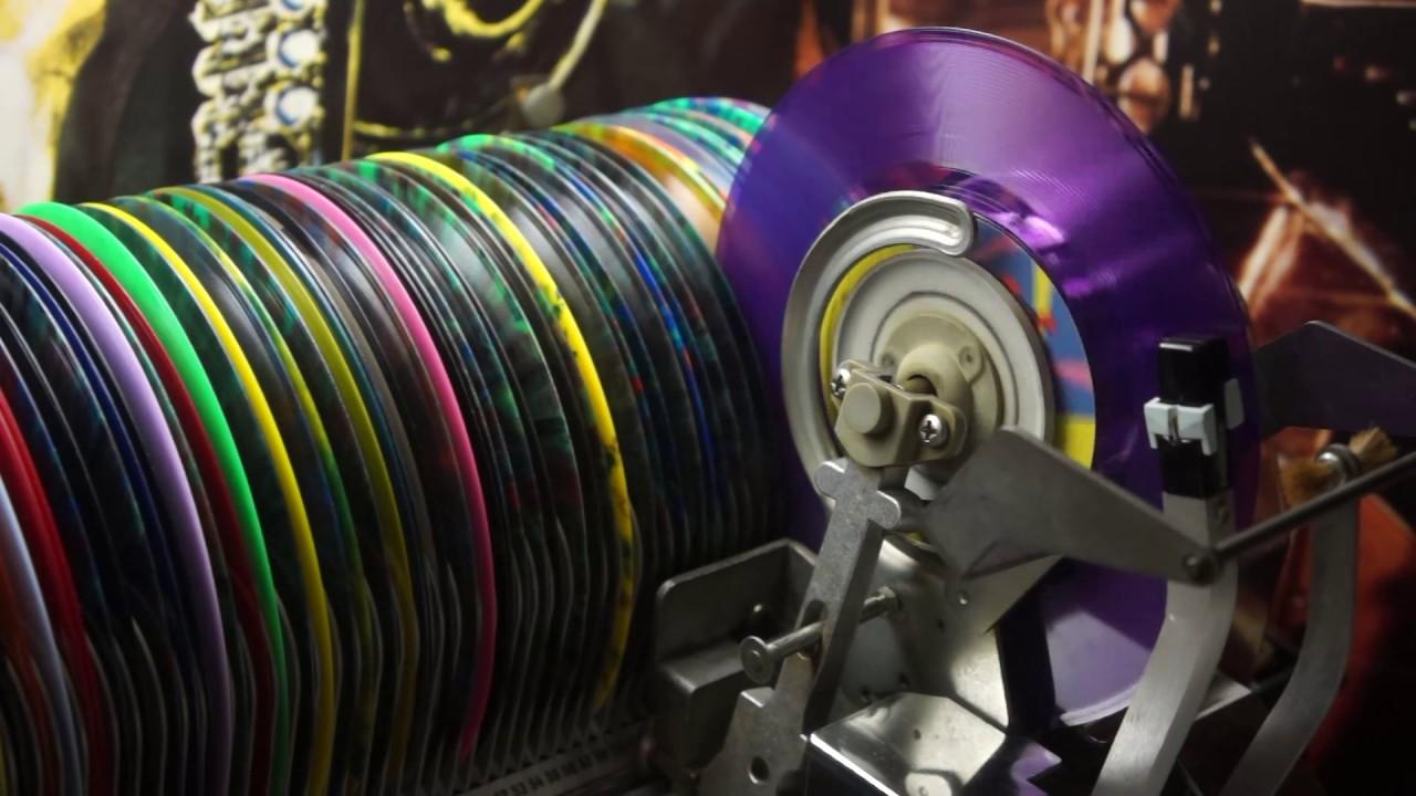 Jonnie's Jukebox Plays: Sweet Talkin' Woman - ELO 1977 Purple USA 45rpm Record