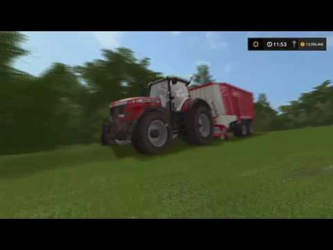 FS17 PS4 Multiplayer On Coldborough Park Farm Timelapse #1: Grass Work !