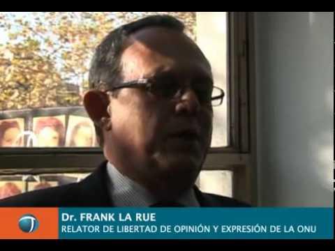 Frank La Rue en el III Congreso Mundial de Agencias de Noticias
