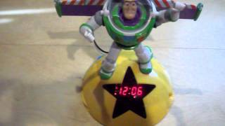 Buzz Lightyear Talking Digital Alarm Clock