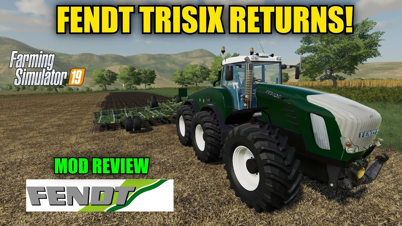 Tractor Fendt Vario Trisix v1 0 for FS19