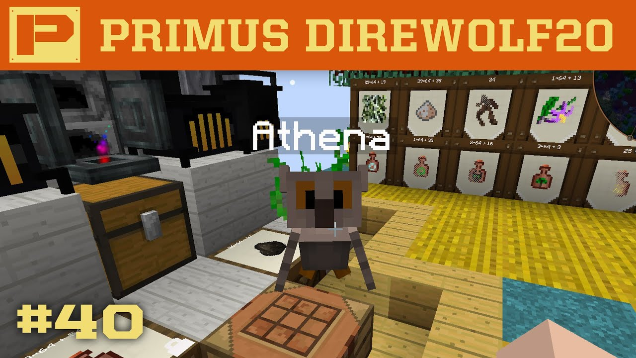 Primus Direwolf20 - Witchery Owl Familiar - 040
