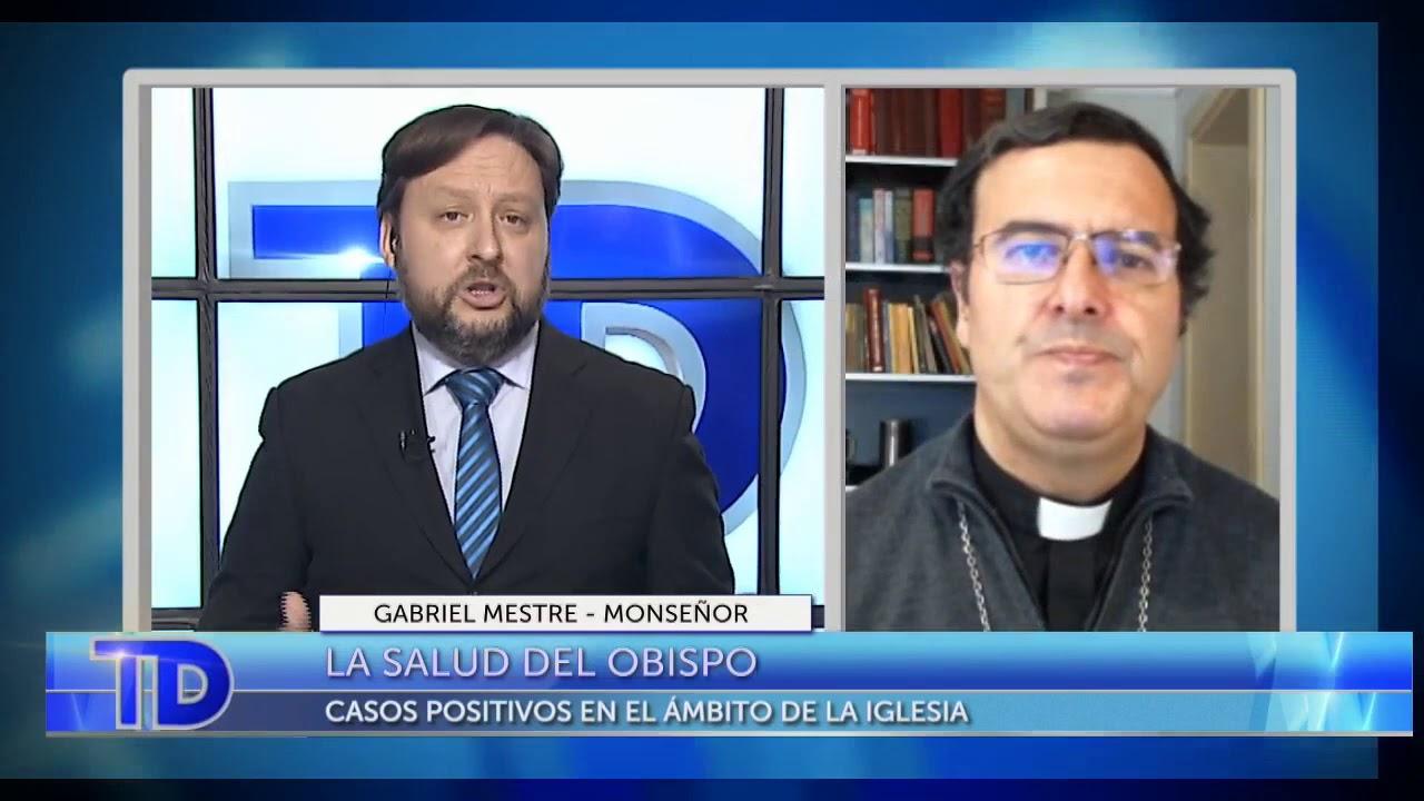Telediario - Comunicación con el Obispo Gabriel Mestre