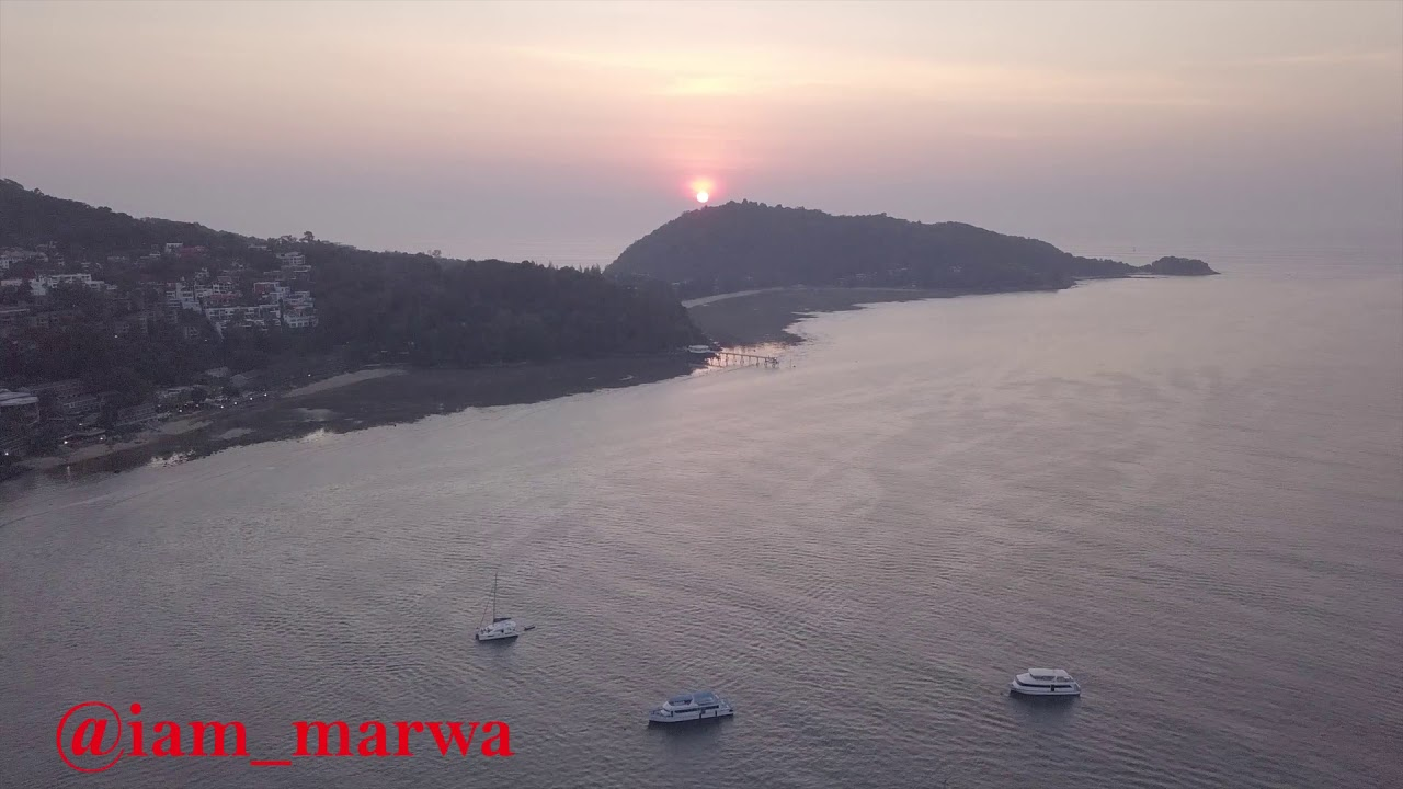 PATONG Phuket  Town THAILAND - drone 2020 || iam_marwa