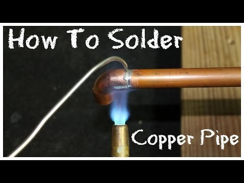 How to Solder Copper Pipe – DIY How-To Basics