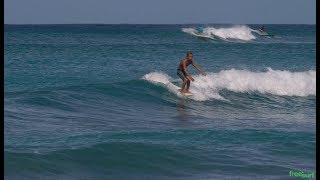 Longboard Segment / Kekoa Canullo Hanging Ten in Waikiki - Freesurf Magazine