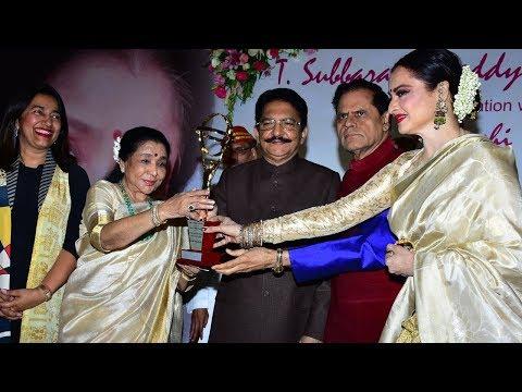 Asha Bhosle Honoured With 5th Yash Chopra...