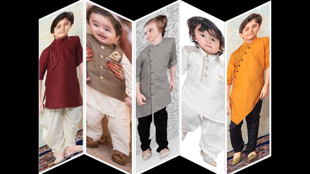 Boys kurta designs 2020/Top latest Kurta pattern style for kids/trending design for boys