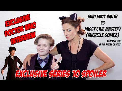 Exclusive Doctor Who Interview with Michelle Gomez aka Missy (The Master) 2016 Series 10 Spoiler!