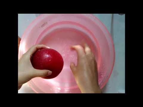 Kitchen tips: How to Clean & Remove 100% Wax from apples