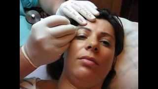 Tatuaj sprancene salon machiaj semipermanent sprancene Zarescu Dan ZDM http://www.machiajtatuaj.ro