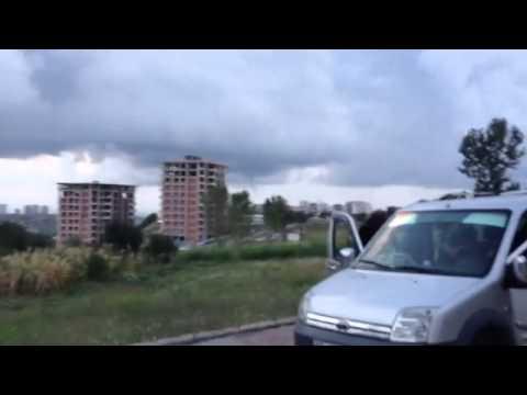 Samsun Atakum'da Hortum