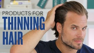Men's Hair Loss: 6 Grooming Products That Fight or Defy Thinning Hair