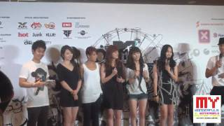 wonder girls in malaysia for mtv world stage 2010 malaysia press conference