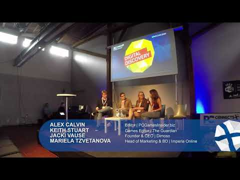 PC Connects 2017 – Digital Discovery - PR and Marketing Panel - So, you wanna make a splash!